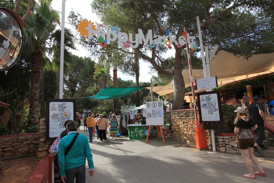 Hippiemarkt in Es Canar