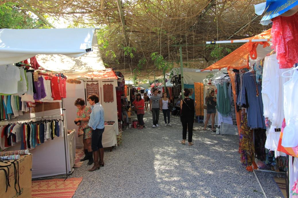 Hippiemarkt in Las Dalias