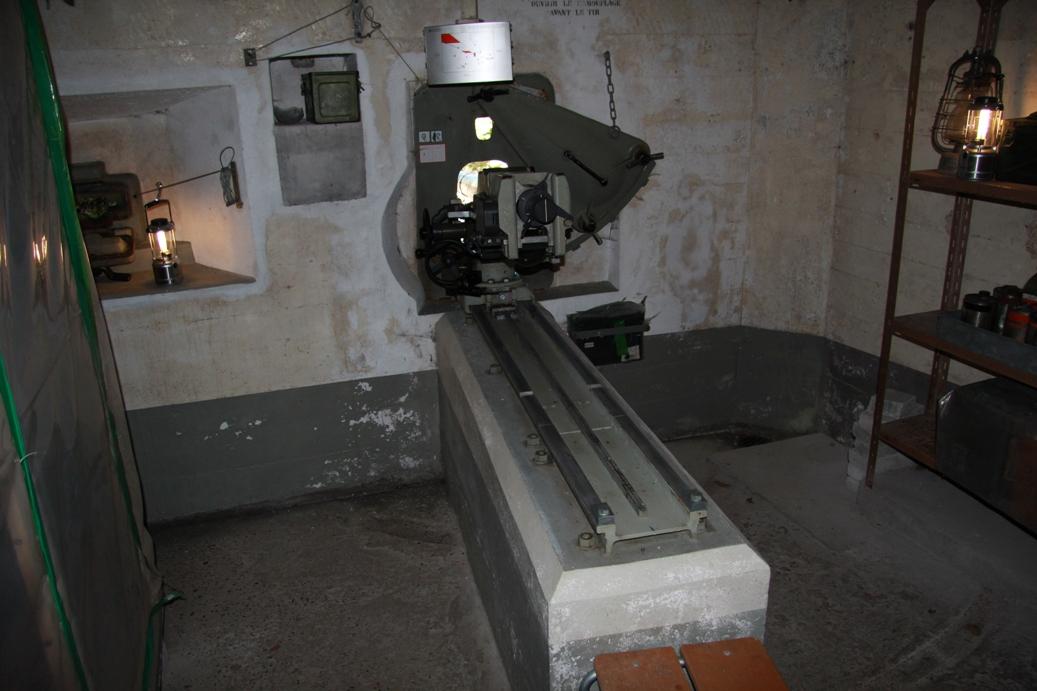 Innenansicht des unteren Bunkers