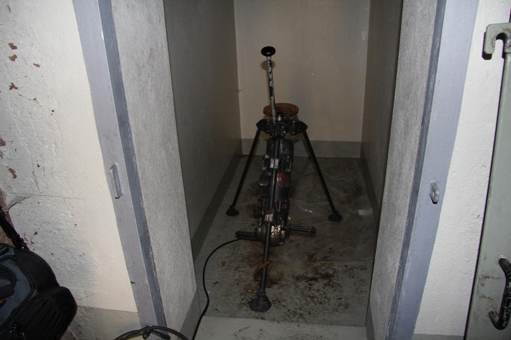 Strom-Generator im unteren Bunker