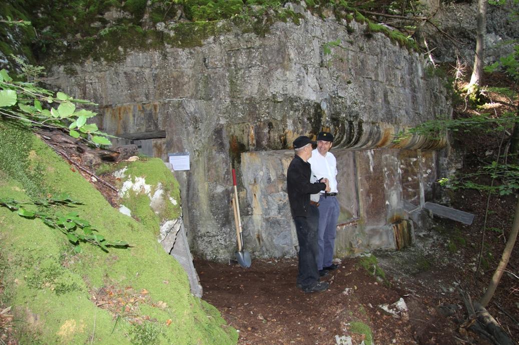 Bunker oben