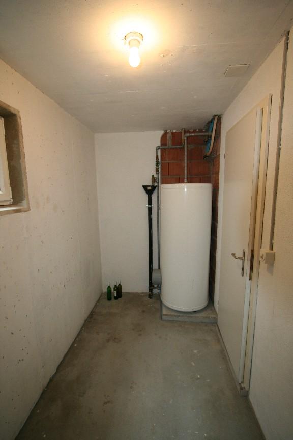 Keller mit Boiler