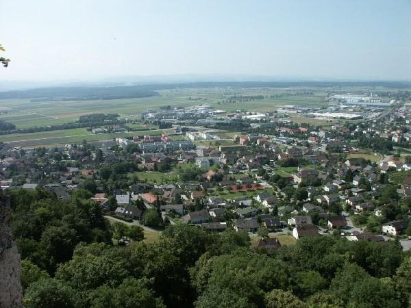 Aussicht vom Turm Richtung Niederbipp