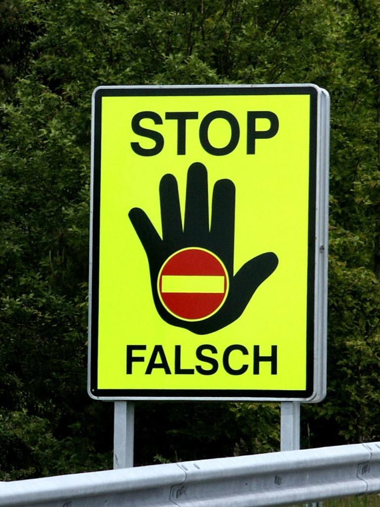 Autobahnausfahrt Österreich
