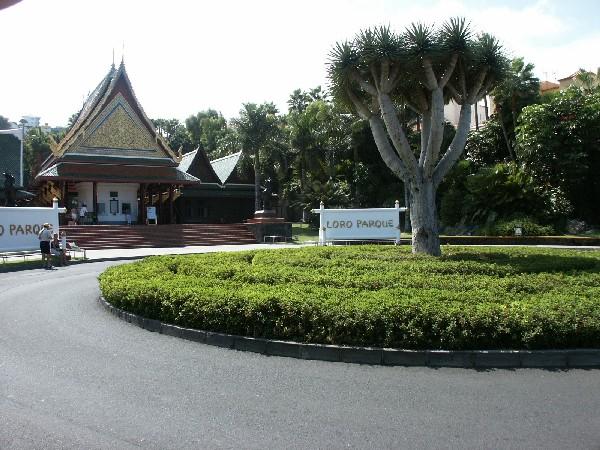 Haupteingang des Loro Park