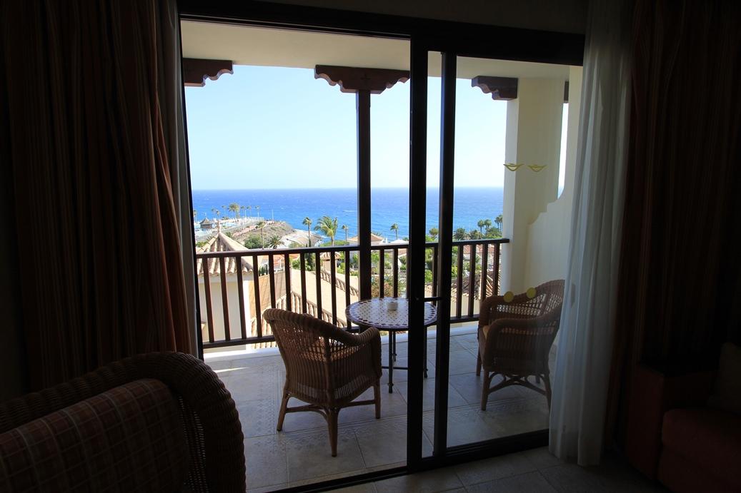Hotel Gran Tacande, Blick von Zimmer 635