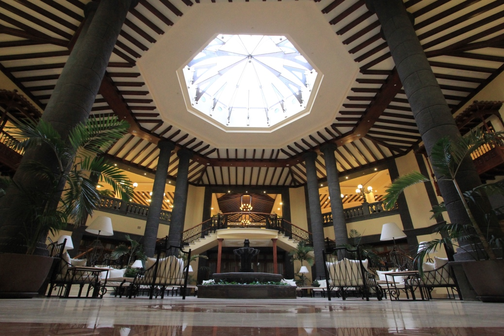 Eingangshalle Hotel Gran Tacande